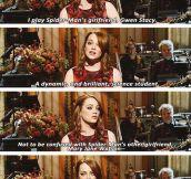 Emma Stone Is a Genius