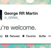 George R. R. Martin Everyone