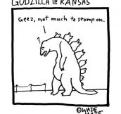 Godzilla In Kansas