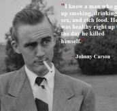 Johnny Carson's Wise Words