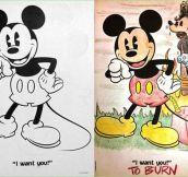 Mickey's Dark Intentions
