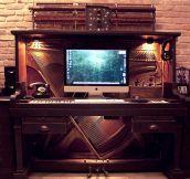 The Fanciest Desk I've Ever Seen