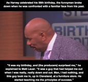 Steve Harvey Gets a Surprise