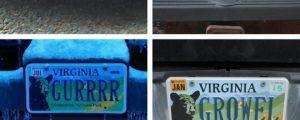 Not So Unique License Plate