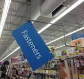 Ironic Walmart Sign