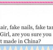 Fake Girls With Fake Hair