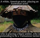 Robert Downey Jr. In Tropic Thunder