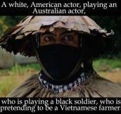 Robert Downey Jr. In Tropic Thunder