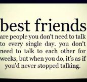 Best Friends Understand