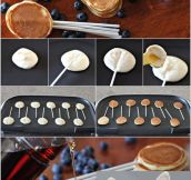 Pancake-Lollipop