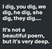 Dig This Poem