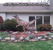 Jurassic Front Yard