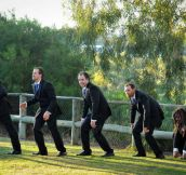 Evolution Of A Groomsman