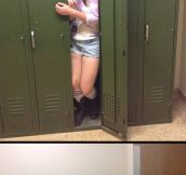 Playing In The Lockers