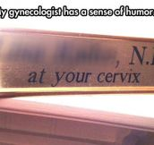 Gynecologist Pun