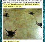 Crab God