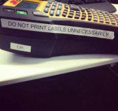 Do Not Print