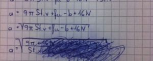 How Math Problems End