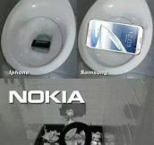 Phone Accidents In The Bathroom