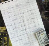 Great Thinking, My Drunk Neighbor
