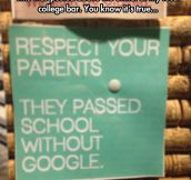 Why We Should All Respect Our Parents