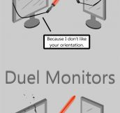 Dual Monitors On Duel