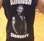 If Abe Says It…