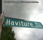Naming Streets