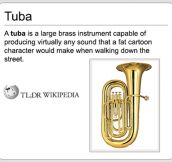 The Definition Of A Tuba