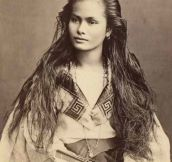 Exotic Beauty From 1875