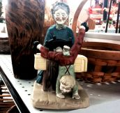 22 Seriously Strange But Funny Thrift Store Finds…