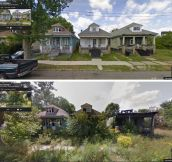 Google Street View Shows Transformations