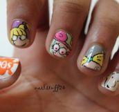 Creative Nail Art…(25 Pics)
