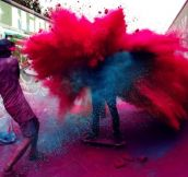 Colorful Explosive Art