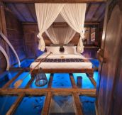 Glass Bottom Bedroom