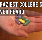The Most Hilarious College Story You've Ever Heard…Best laugh I Had in awhile