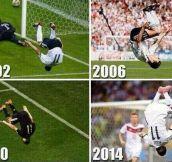 Klose Goal Celebration
