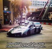 Lamborghini Veneno Spotted In Miami