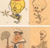 Anatomy Of Cartoon Characters