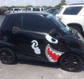 This Guy Found The Right Decals For His Car