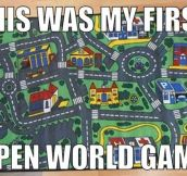 The First Open World Game