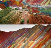 Rainbow Mountains, China