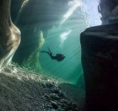 Cool Underwater Perspective