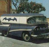 A Vintage Batmobile Van