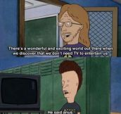 The Supreme Intelligence Of Butthead