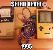 Taking Selfies 20 Years Ago