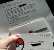 A Google Pokemon Master