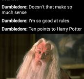 Dumbledore Knows How To Do It Right