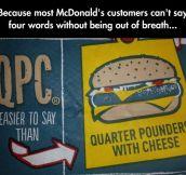 Lazy McDonald's People