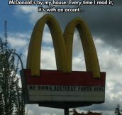 McDonald's Vocabulary